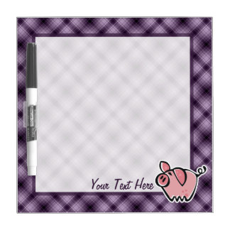 Purple Pig Dry Erase Board