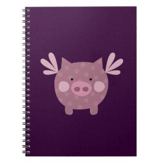 Purple Pig Notebook