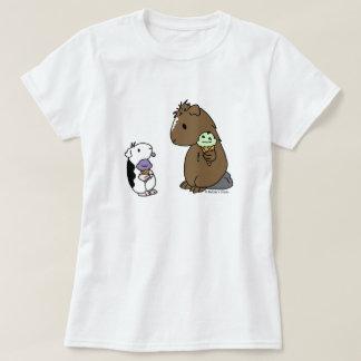 Purple Piggy Ice Cream T-shirt