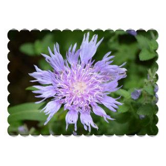 Purple Pincushion 5x7 Paper Invitation Card