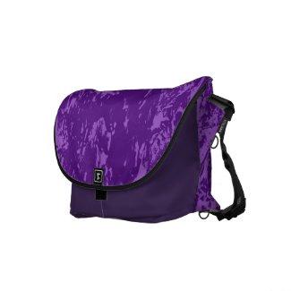 Purple Pine Bark Messenger Bag rickshawmessengerbag