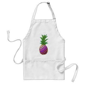 Purple Pineapple Adult Apron