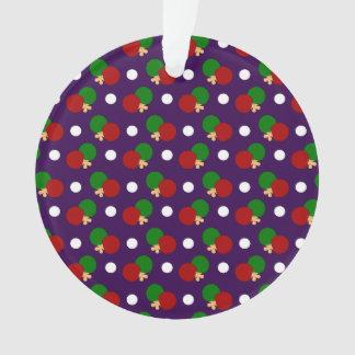 Purple ping pong pattern