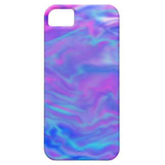 Purple, Pink, and Blue Tye-Dye Phone Case iPhone 5 Case