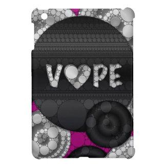 Purple Pink Black 3D Vape Heart iPad Mini Case