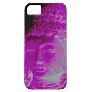 purple/pink Buddha head case