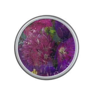 Purple Pink Flower Garden Speaker