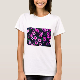 Purple pink flowers T-Shirt