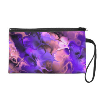 Purple/Pink Fractal Purse