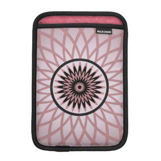 Purple Pink Geometric Flower iPad Mini Sleeves