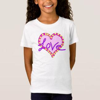 Purple pink heart love Shirts