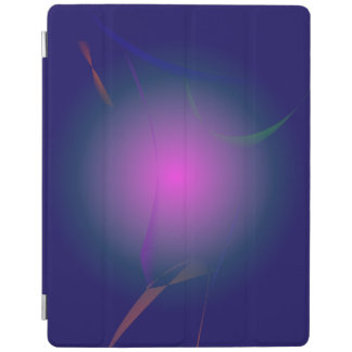 Purple Pink Moon in the Navy Sky iPad Cover