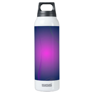 Purple Pink Moon in the Navy Sky Thermos Bottle