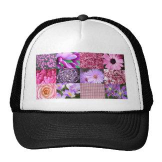 Purple / Pink Photo Collage Hat