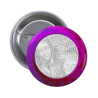purple pink pinback button