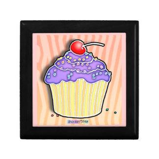 Purple & Pink Pop Art Cupcake Gift Box