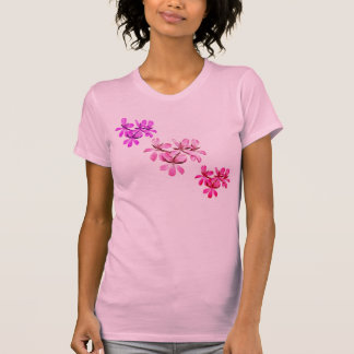 Purple Pink Red Flowers Geranium Women's T-Shirt