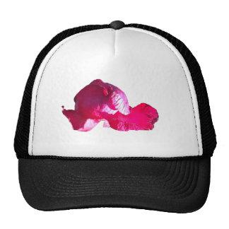 Purple Pink Rose Bud Flowers Trucker Hat
