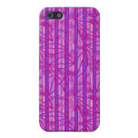 Purple Pink Stripes iPhone 5 Case