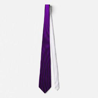 Purple Pinstripe Neck Tie