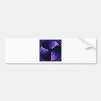 Purple Pinwheel Bumper Sticker