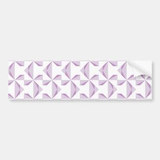 Purple Pinwheels Bumper Sticker