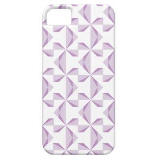 Purple Pinwheels iPhone SE/5/5s Case