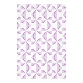 Purple Pinwheels Stationery