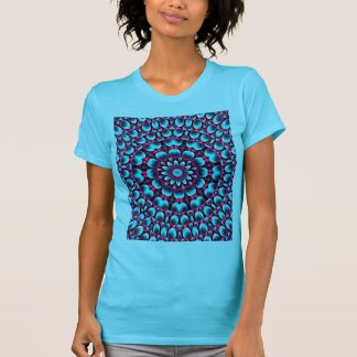 Purple Piper Apparel Front Womens T-Shirt