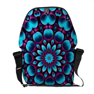 Purple Piper Colorful Messenger Bags