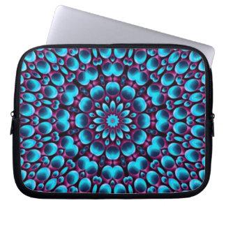 Purple Piper Colorful Neoprene Laptop Sleeves