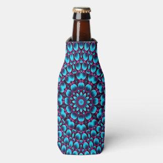 Purple Piper Kaleidoscope Colorful Bottle Cooler