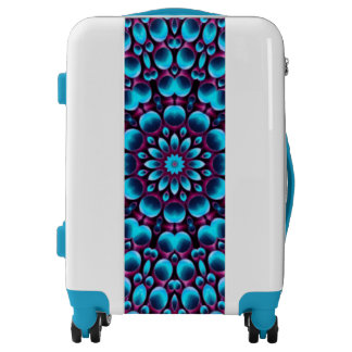 Purple Piper Pattern Luggage 3 sizes