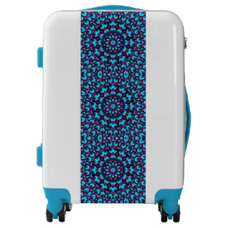Purple Piper Tiled  Pattern Luggage 3 sizes