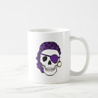 Purple Pirate Mug