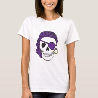 Purple Pirate Skull T-shirt