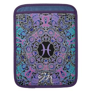 Purple Pisces Mandala iPad Sleeve