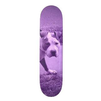 Purple Pit Bull Skateboard