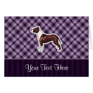 Purple Pitbull Card