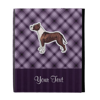 Purple Pitbull iPad Folio Cases