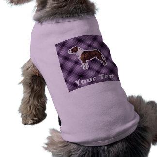 Purple Pitbull Pet T Shirt