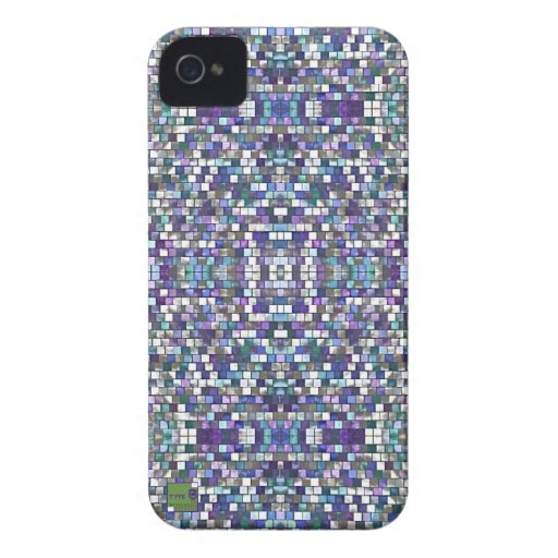 Purple pixel Apple, Android smartphone cases Case-Mate iPhone 4 Cases