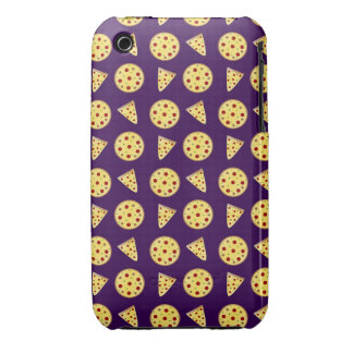 Purple pizza pattern iPhone 3 covers