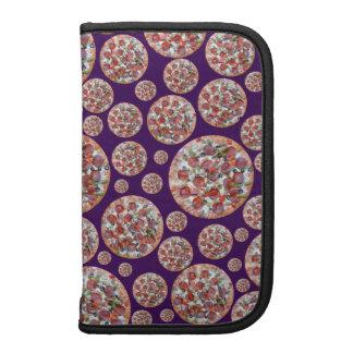 Purple pizza pie folio planners