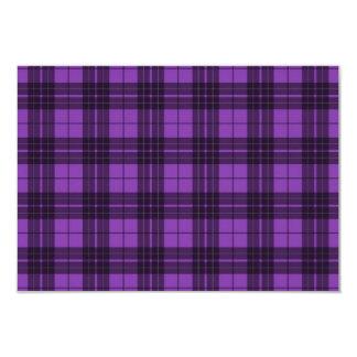 Purple Plaid Card