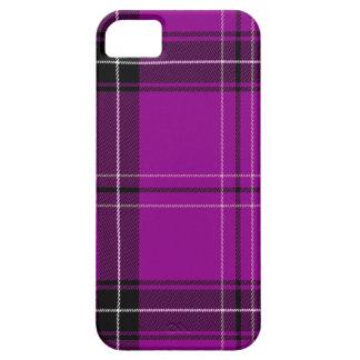 Purple Plaid iPhone 5 Cover