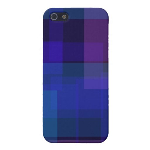 Purple Plaid Cases For iPhone 5