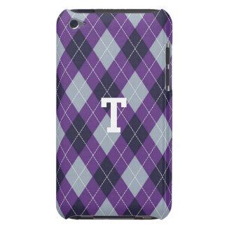 Purple Plaid iPod Touch Case