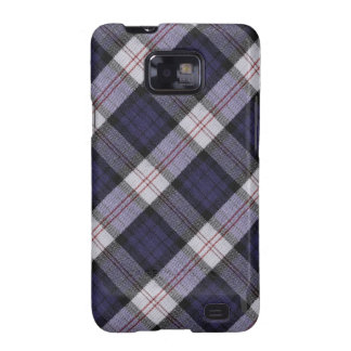 Purple Plaid Texture Samsung Galaxy S2 Case