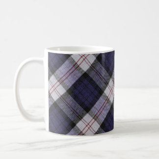 Purple Plaid Texture Coffee Mug